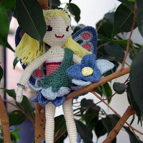 Flower Fairy Evie Crochet Kit