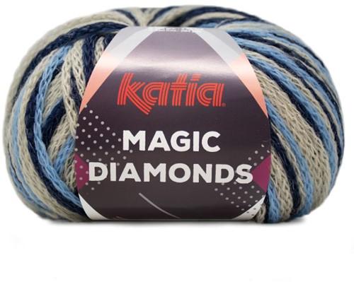 Katia Magic Diamonds 052 Jeans / Beige