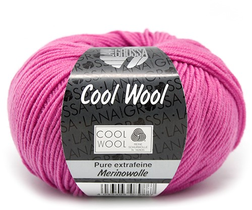 Lana Grossa Cool Wool 530 Fuchsia