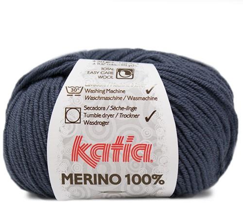 Katia Merino 100% 53 Blue
