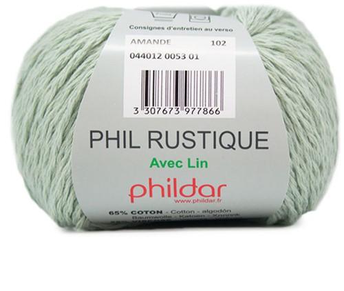 Phildar Phil Rustique 53 Amande