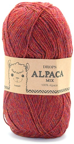 Drops Alpaca Mix 5565 Light Maroon