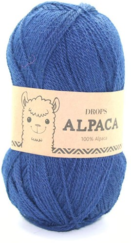 Drops Alpaca Uni Colour 5575 Navy Blue