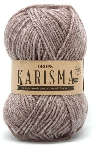 Drops Karisma Mix 55 Light-beige-brown