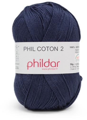 Phildar Phil Coton 2 1446 Marine