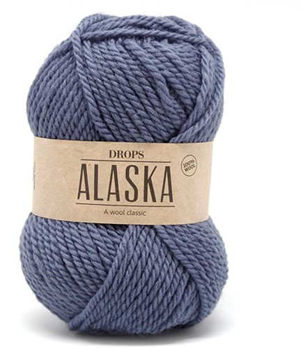 Drops Alaska Uni Colour 57 Denim-blue