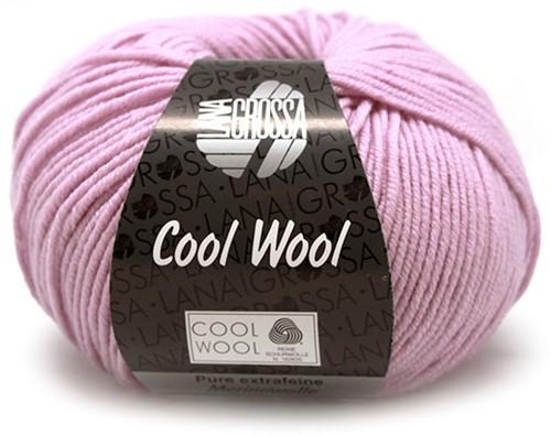 Lana Grossa Cool Wool 580 Lilac Rose