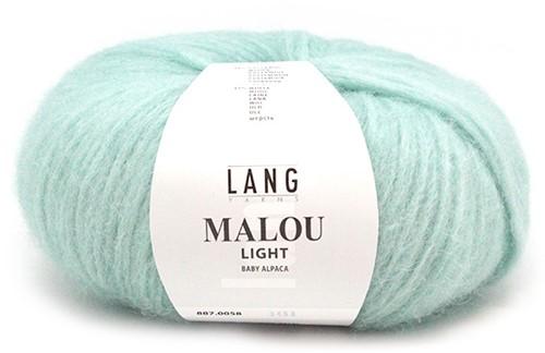 Lang Yarns Malou Light 58 Mint
