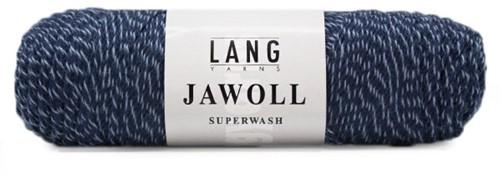 Lang Yarns Jawoll Superwash 58 Jeans/Blue Mouliné