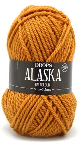 Drops Alaska Uni Colour 58 Mustard