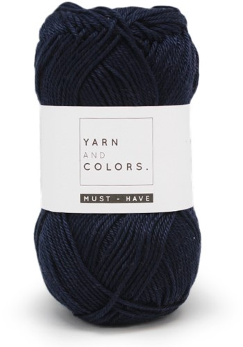 Yarn and Colors Must-have 059 Dark Blue