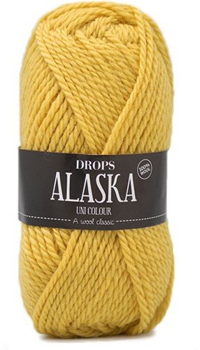 Drops Alaska Uni Colour 59 Lemon