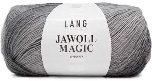 Lang Yarns Jawoll Magic 5 Dark Gray