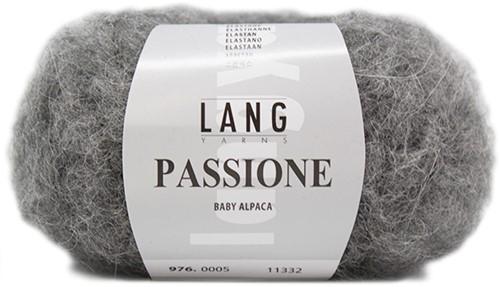 Lang Yarns Passione 5 Grey Melange