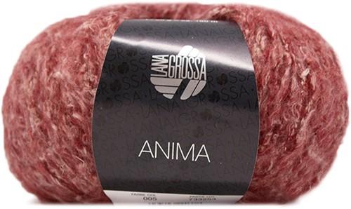 Lana Grossa Anima 05 Dark Red Mottled