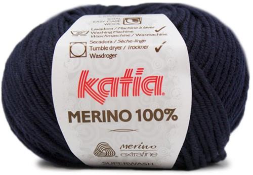 Katia Merino 100% 5 Dark blue