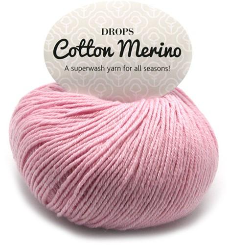 Drops Cotton Merino Uni Colour 5 Powder Pink