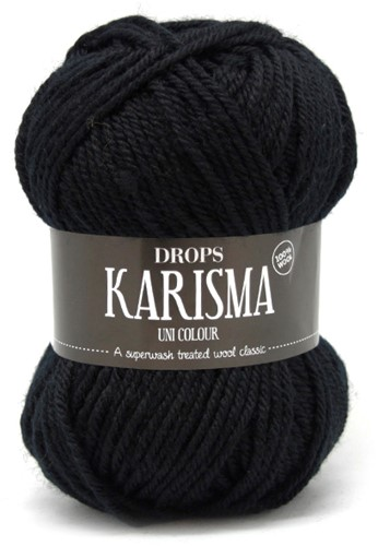 Drops Karisma Uni Colour 05 Black