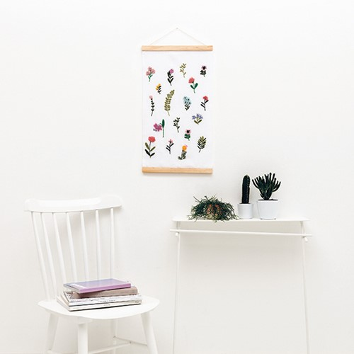 Flower Wall-Hanging Punch Needle Kit