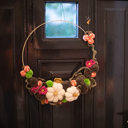 Fall Wreath Crochet Kit