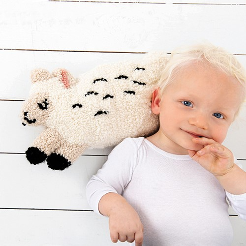 Cuddly Sheep Punch Needle Kit