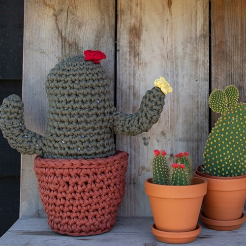 Crochet pattern Zpagetti XL Cactus