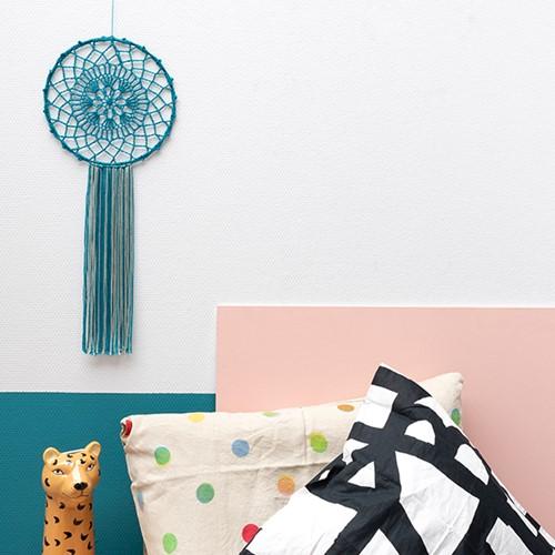 Yarn and Colors Must-Have Mandala Crochet Kit 1 Petrol Blue / Eucalyptus