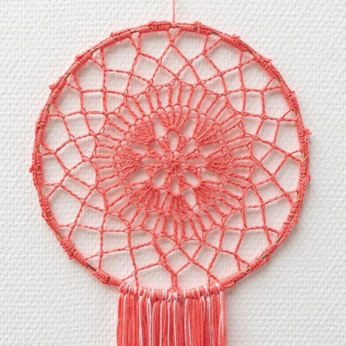 Yarn and Colors Must-Have Mandala Crochet Kit 2 Pink Sand / Blossom