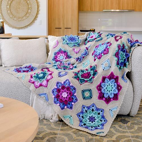 Floral Dreams Blanket CAL Yarn Kit 1