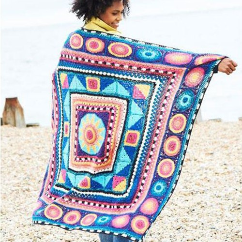 Sunstar Blanket CAL Yarn Kit 1 Life dk