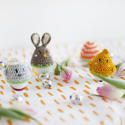 Crochet Pattern Egg Warmers Easter