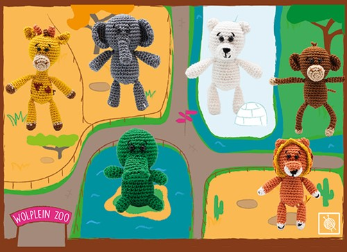 Zoo Crochet Kit