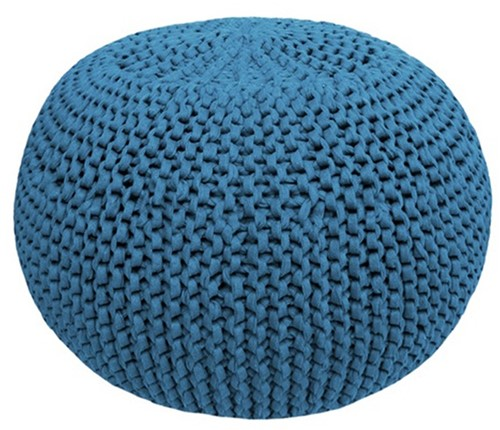Knitting Pattern Zpagetti Pouf