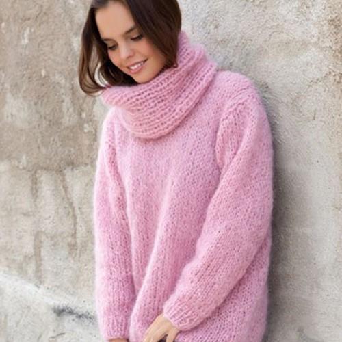 Knitting Pattern Ingenua Sweater