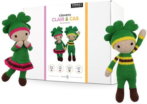 Zabbez Clovers Claire & Cas Crochet Kit
