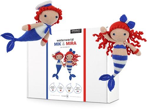 Zabbez Mermaids Mik & Mira Crochet Kit