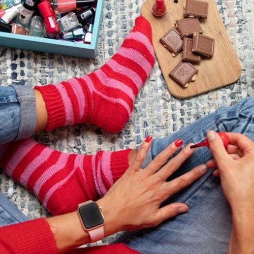 Knitting Pattern Stripy Socks