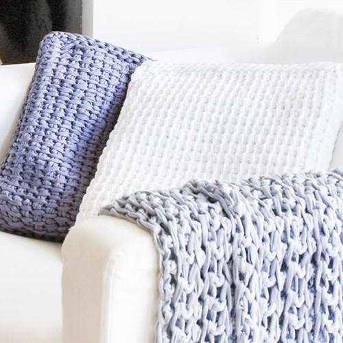 Crochet pattern Zpagetti Tunisian Cushion