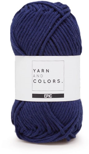 Yarn and Colors Epic 060 Navy Blue