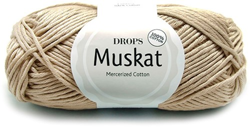 Drops Muskat Uni Colour 61 Light-beige