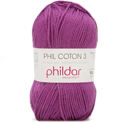 Phildar Phil Coton 3 61 Clematite