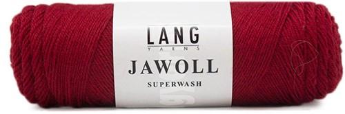 Lang Yarns Jawoll Superwash 61 Burgundy