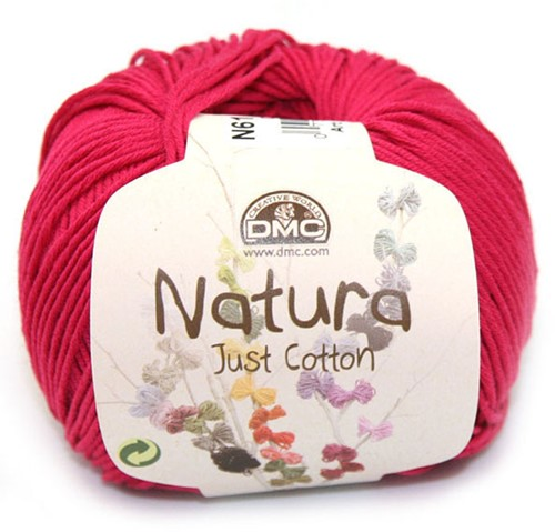 DMC Cotton Natura N61 Crimson