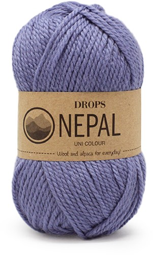 Drops Nepal Uni Colour 6220 Medium Blue