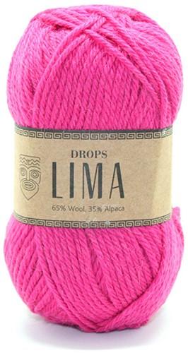 Drops Lima Uni Colour 6273 Bright pink