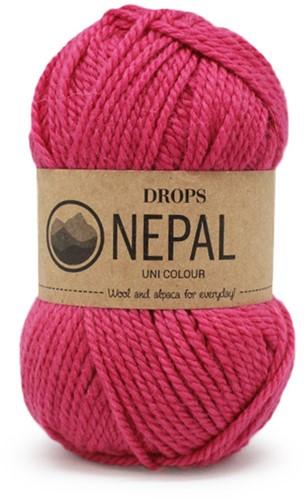Drops Nepal Uni Colour 6273 Pink