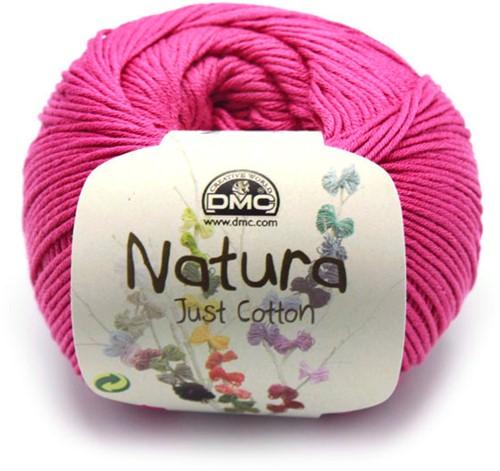 DMC Cotton Natura N62 Cherry
