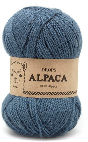 Drops Alpaca Uni Colour 6309 Medium Petrol