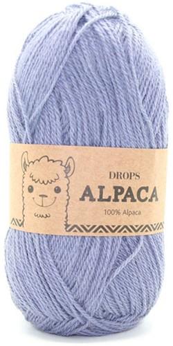 Drops Alpaca Uni Colour 6347 Grey Purple