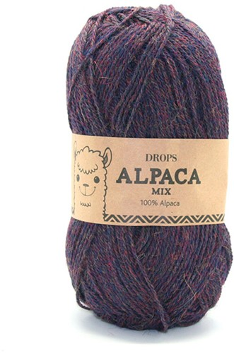 Drops Alpaca Mix 6736 Navy/Purple